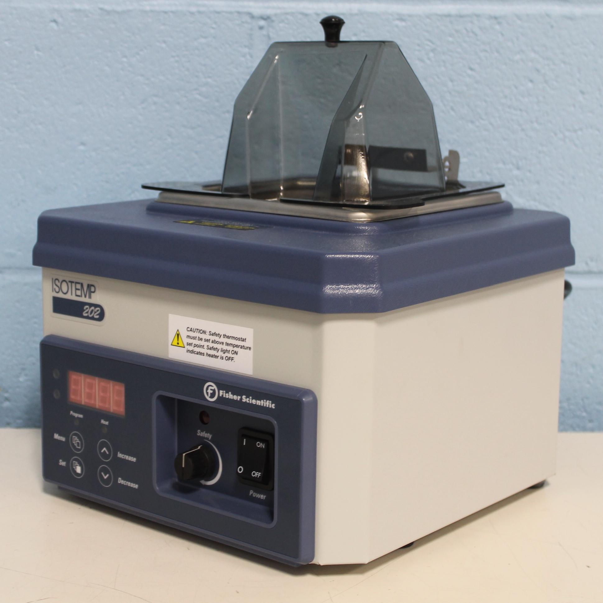 Fisher Scientific Isotemp 202 Digital Control Water Bath Image
