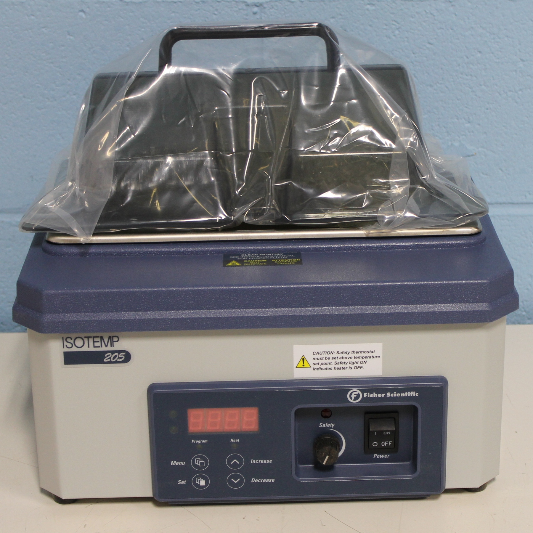 Fisher Scientific Isotemp 205 Digital-Control Water Bath Image
