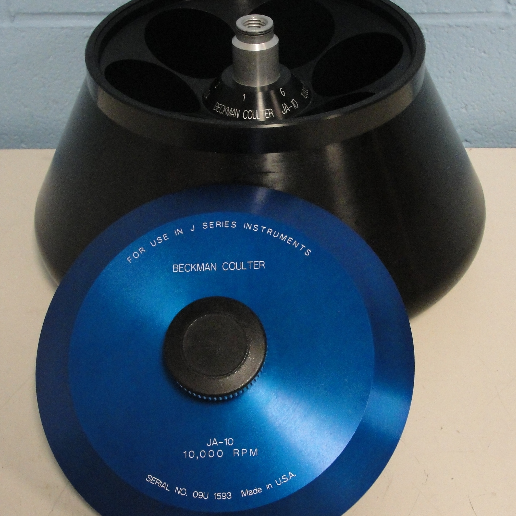 Beckman Coulter JA-10 Fixed Angle Rotor Image