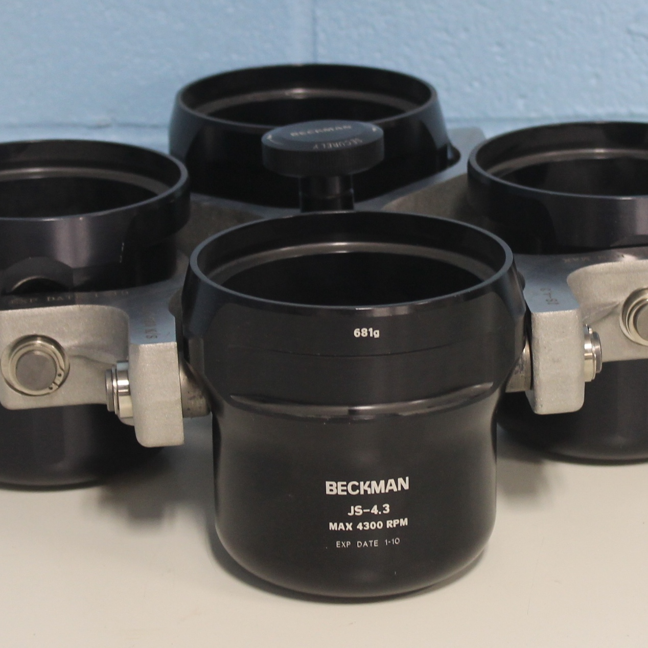 Beckman Coulter JS-4.3 Rotor with Buckets Image
