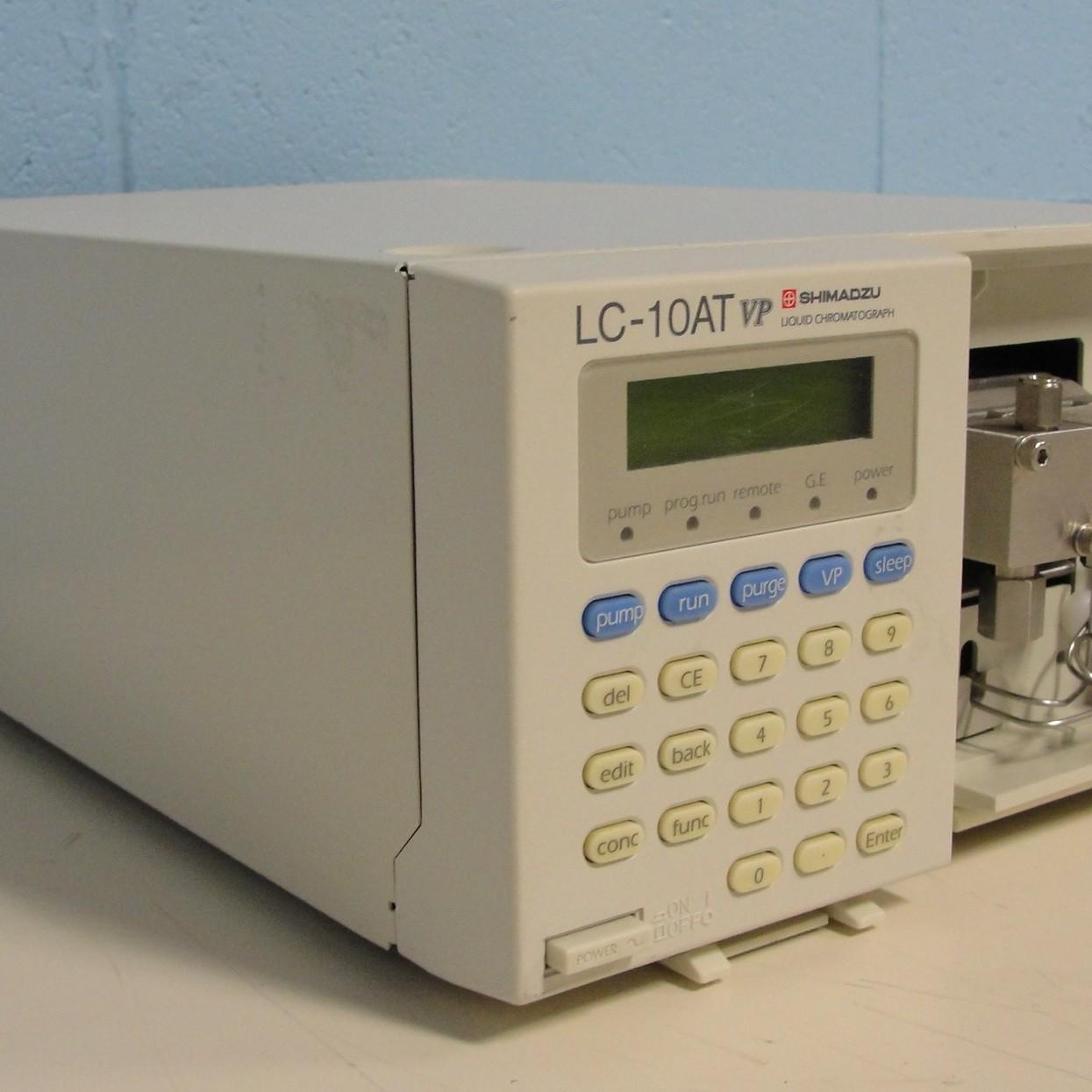 Shimadzu LC-10ATvp Pump Image