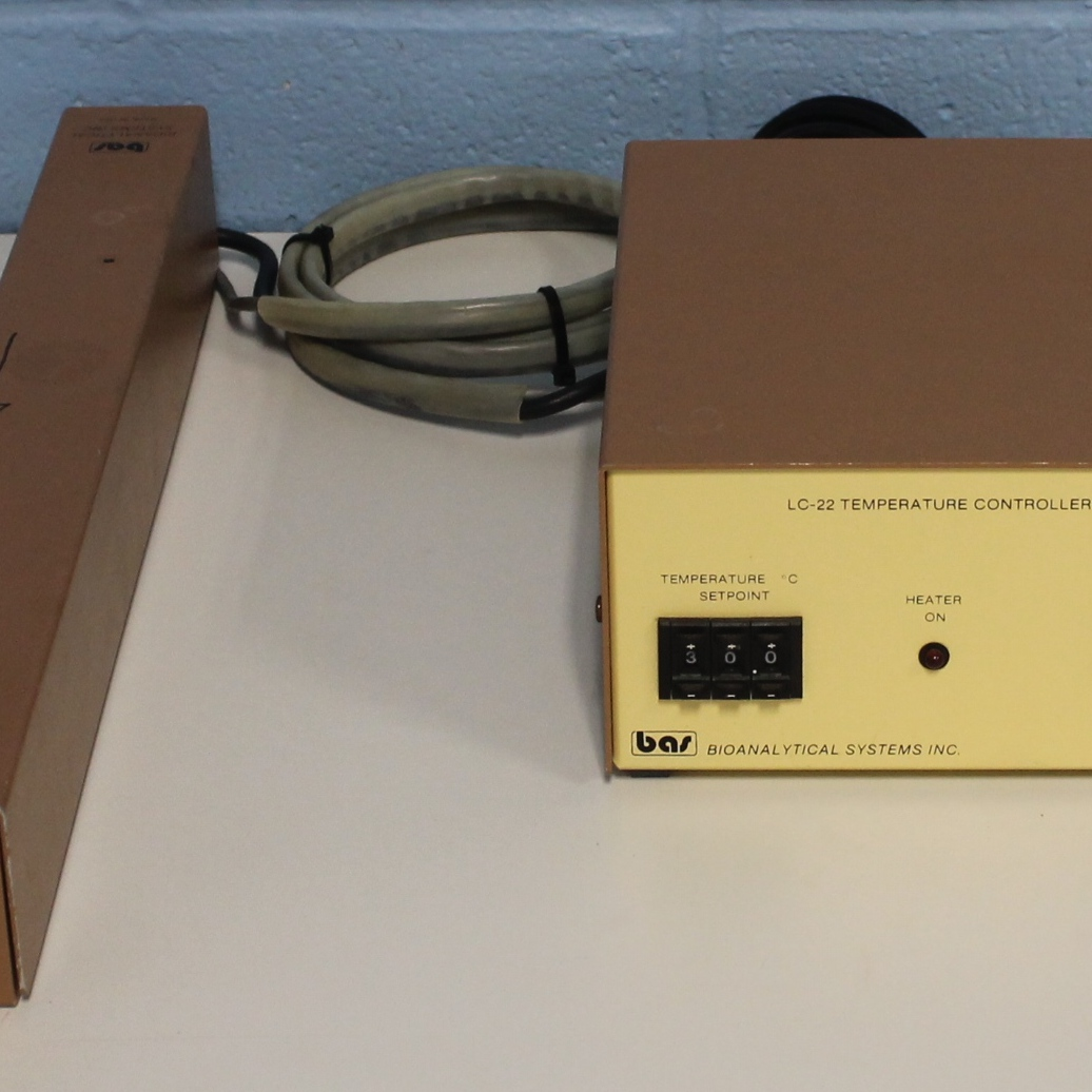 Bioanalytical Systems LC-22-120 Temperature Controller with LC-23A-120 Column Heater Image