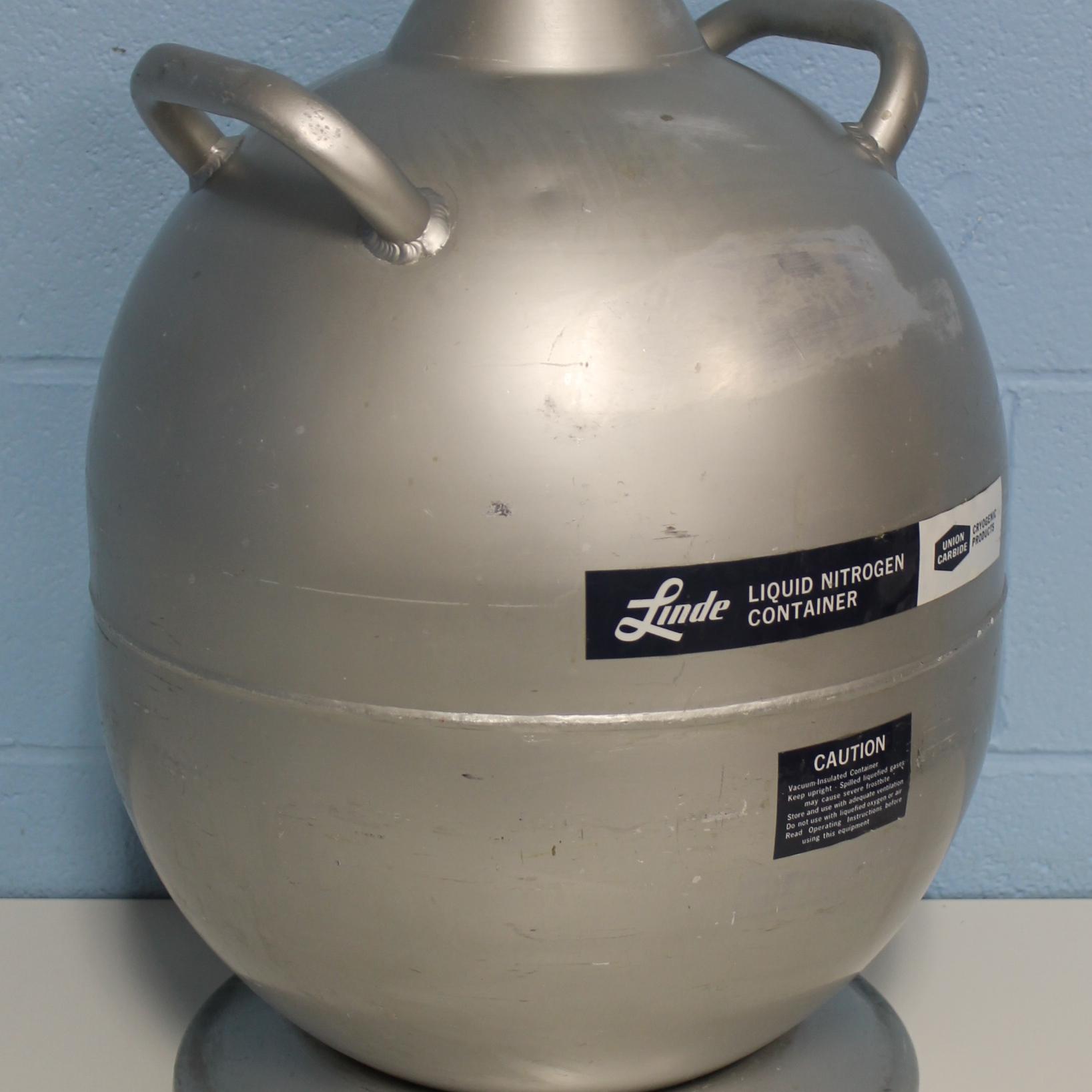 Refurbished Linde Ld 25 Liquid Nitrogen Tank