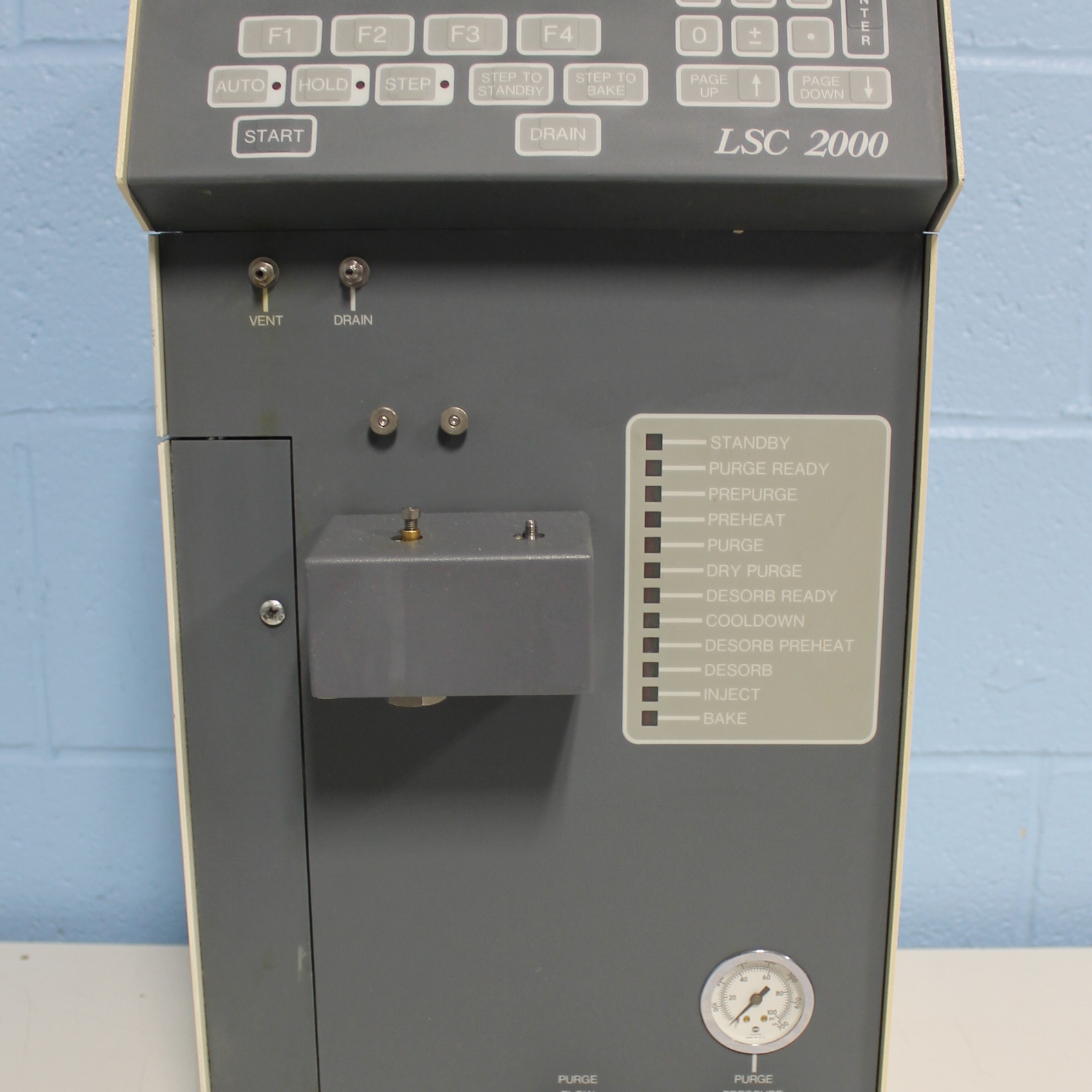 LSC 2000 Concentrator Name