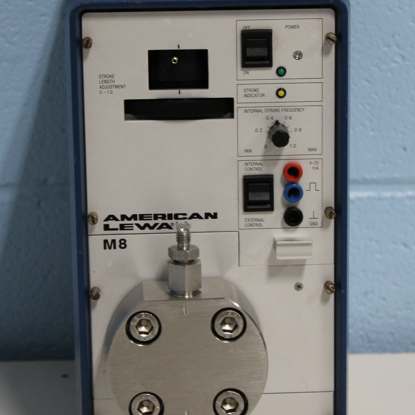 Lab M8 Microflow-Metering Pump Name