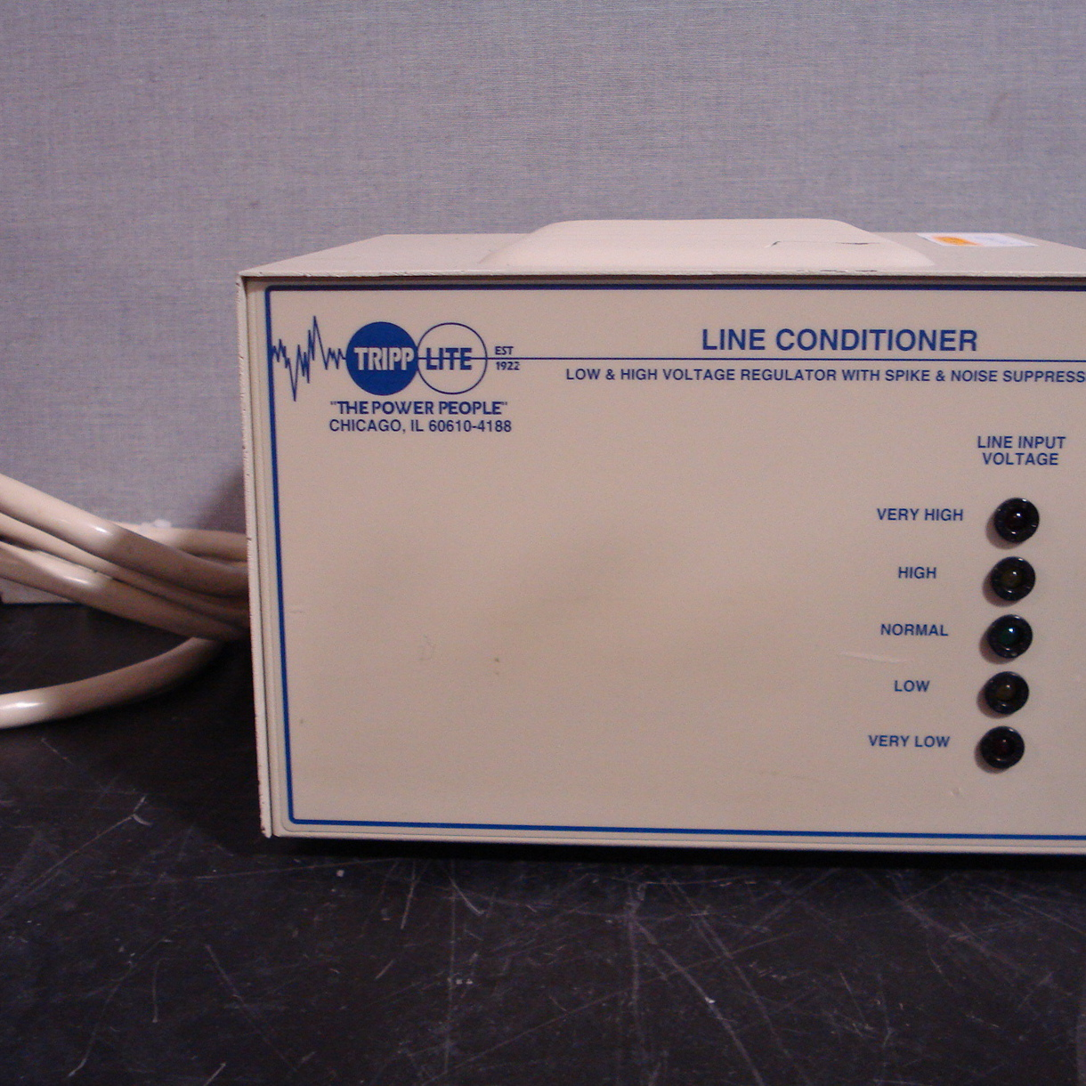 Tripp Lite Line Stabilizer/Conditioner Model LC-1800 Image