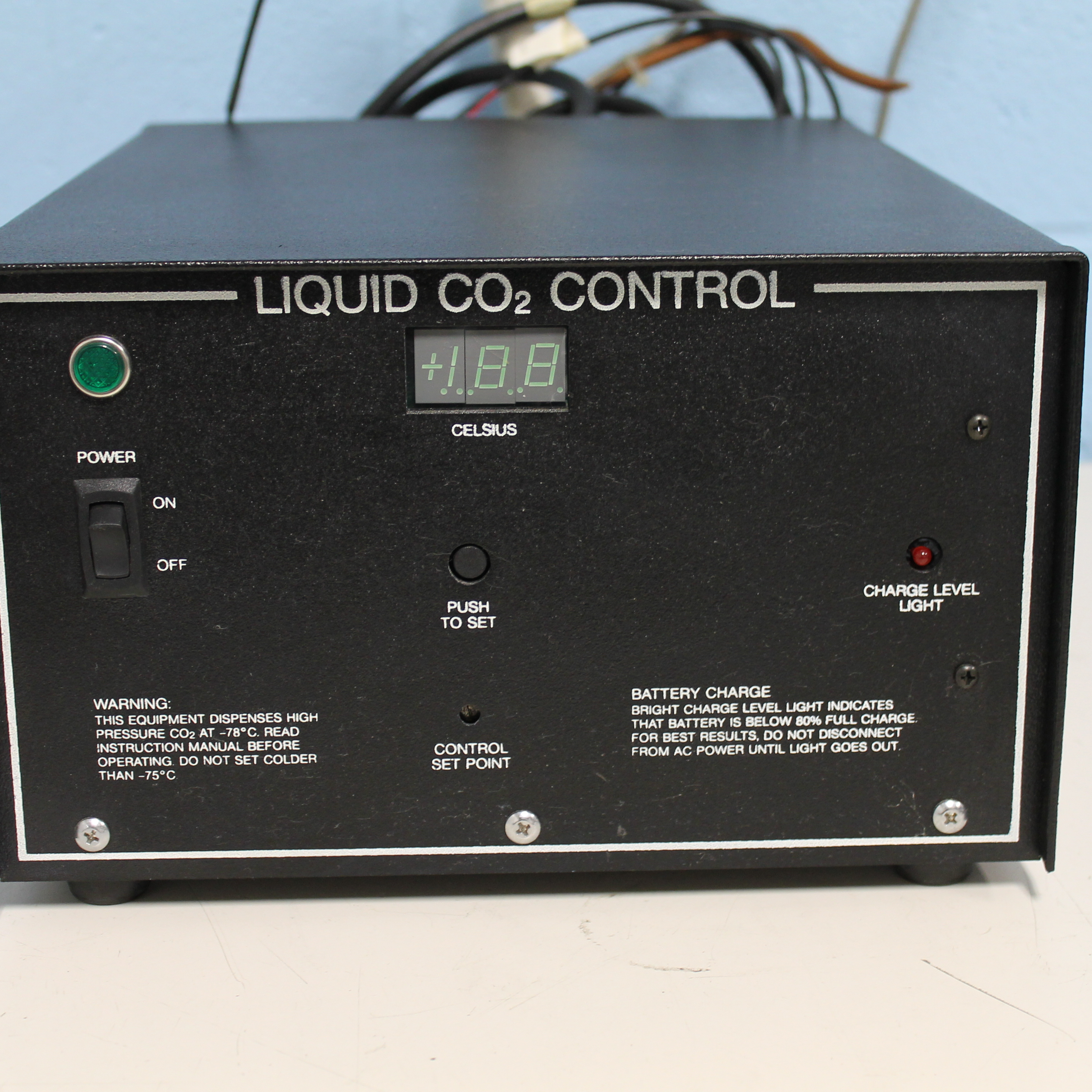 Revco Liquid CO2 Control Back Up System Image