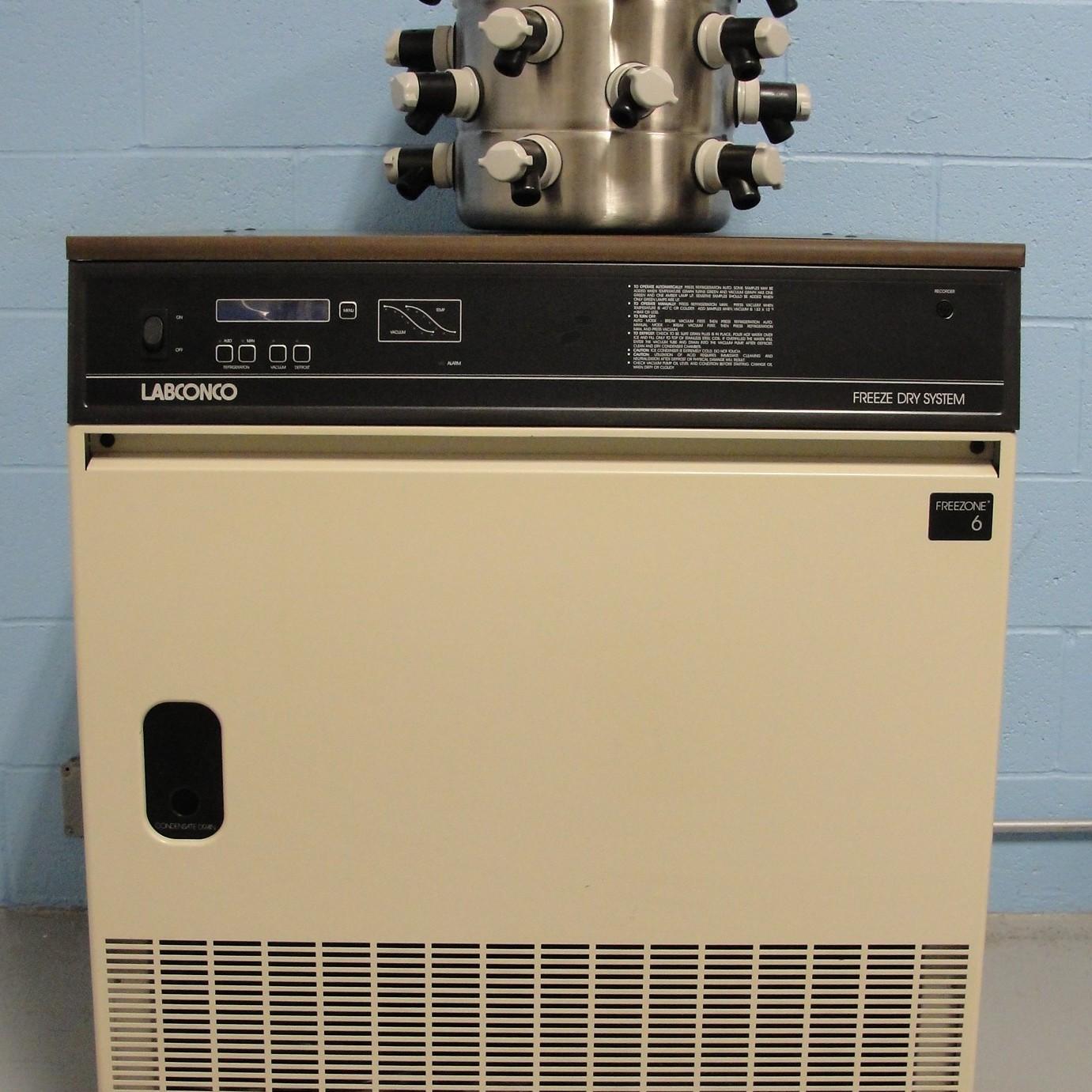Labconco Lyph Lock 6 Floor Model Freeze Dryer Image