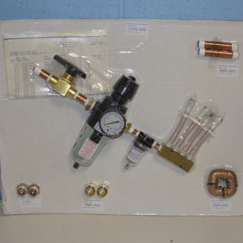 New Brunswick Scientific Co M1273-5002 Air Regulator/Filter Kit - NEW Image