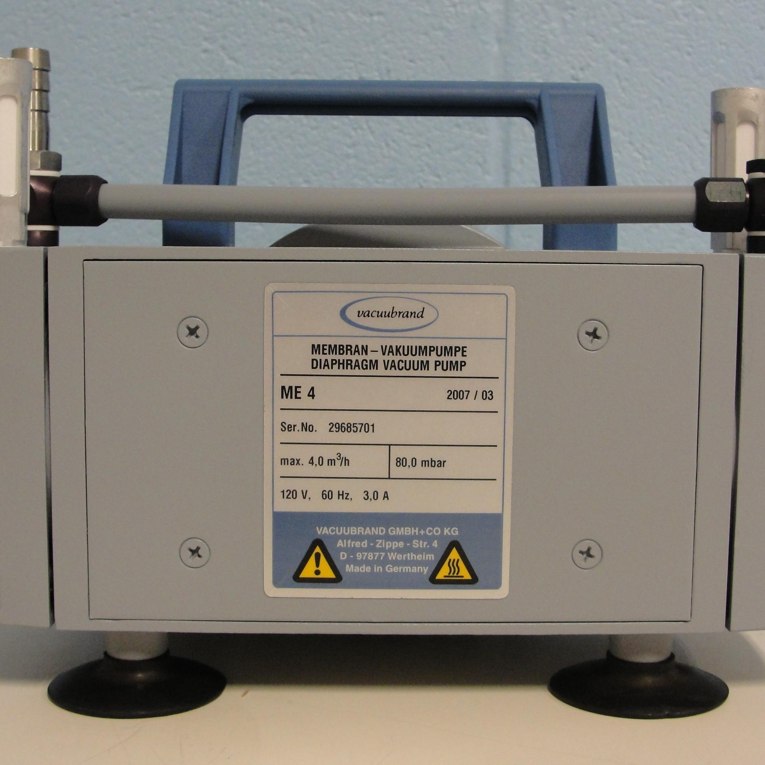 Vacuubrand ME 4 Oil-Free Diaphragm Pump Image