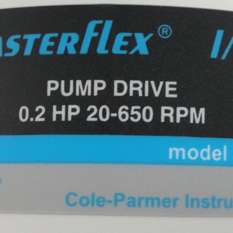 Cole-Parmer Masterflex I/P Model 77601-10 Peristaltic Pump Image