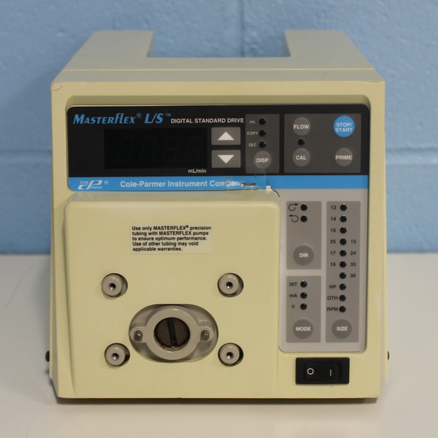 Cole-Parmer Masterflex L/S Digital Standard Drive with Remote Capabilities model 7523-50 Image