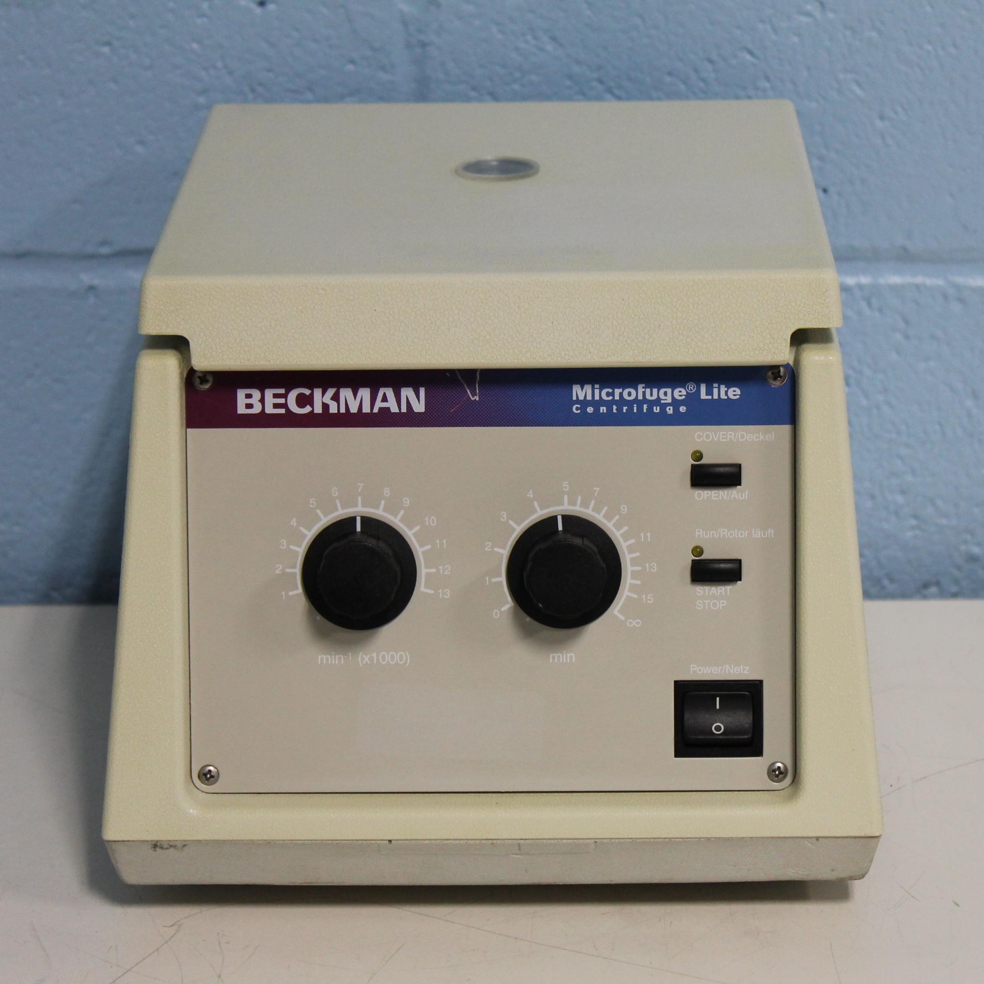 Refurbished Beckman Microfuge Lite Centrifuge