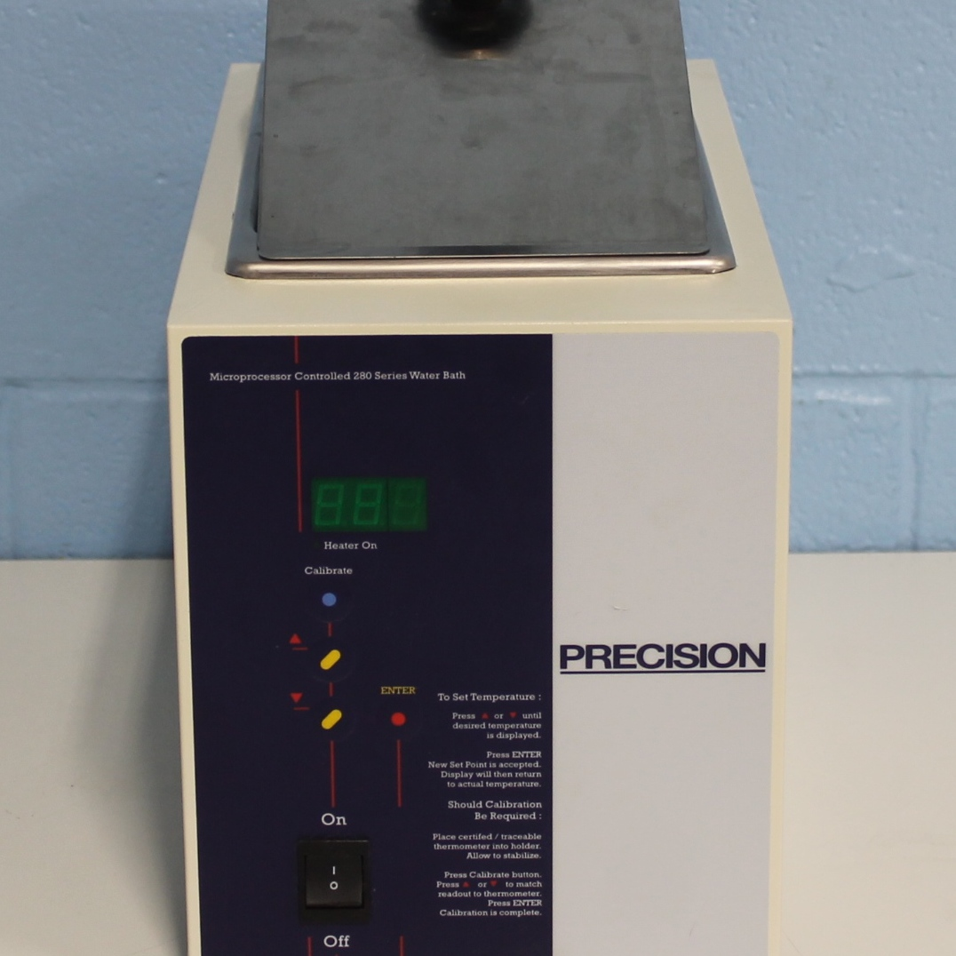 Precision Microprocessor Controlled 282 Water Bath Image
