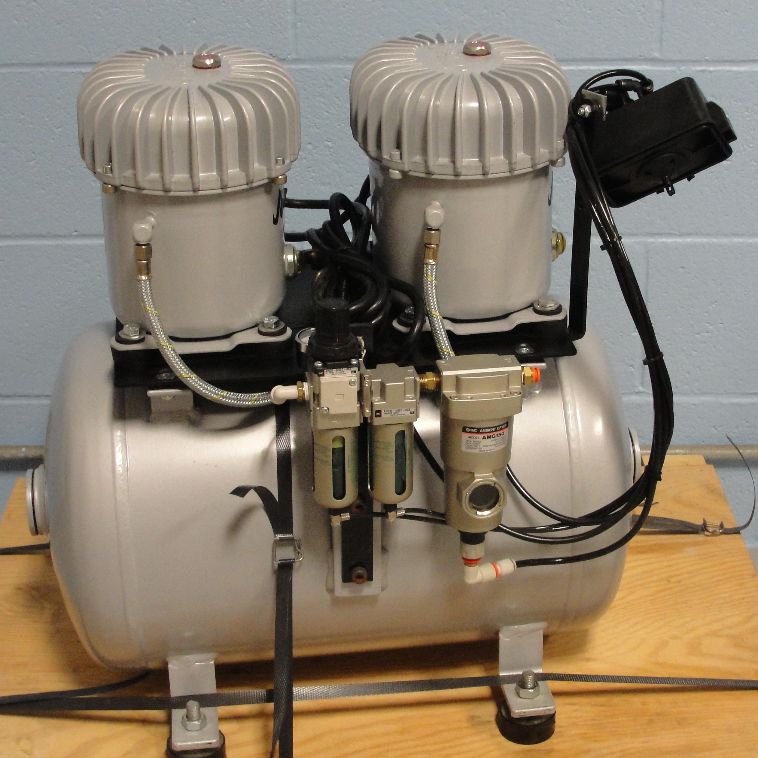 Refurbished Jun Air Model 12 40 Quiet Air Compressor