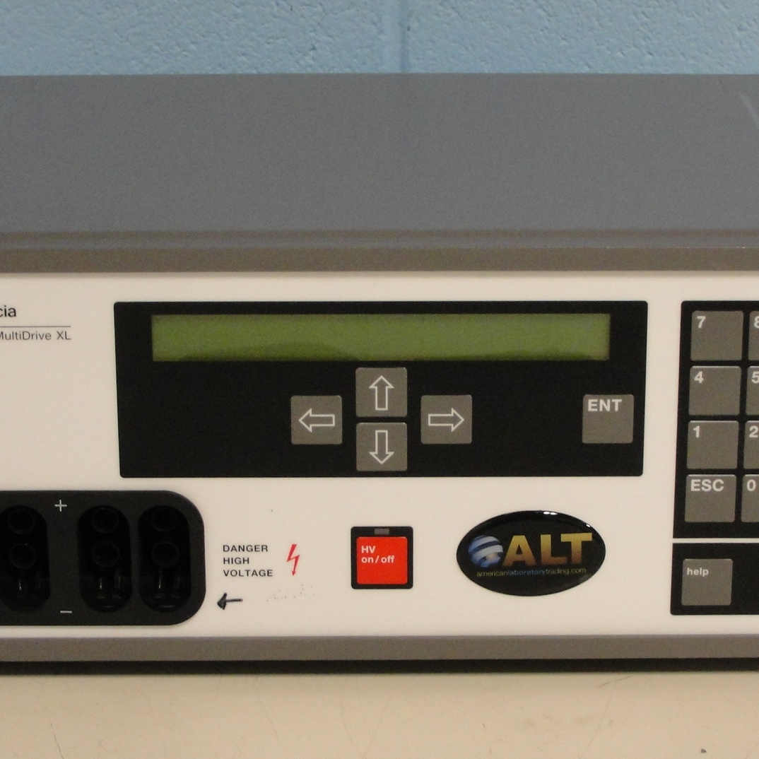 Multidrive XL Electrophoresis Programmable Power Supply Name