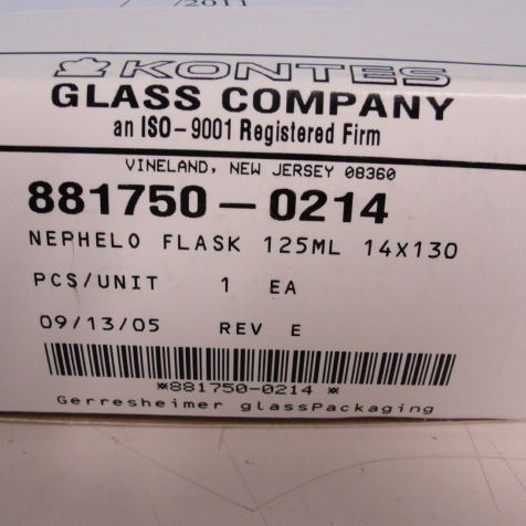 Kontes Nephelo Culture Flask Image