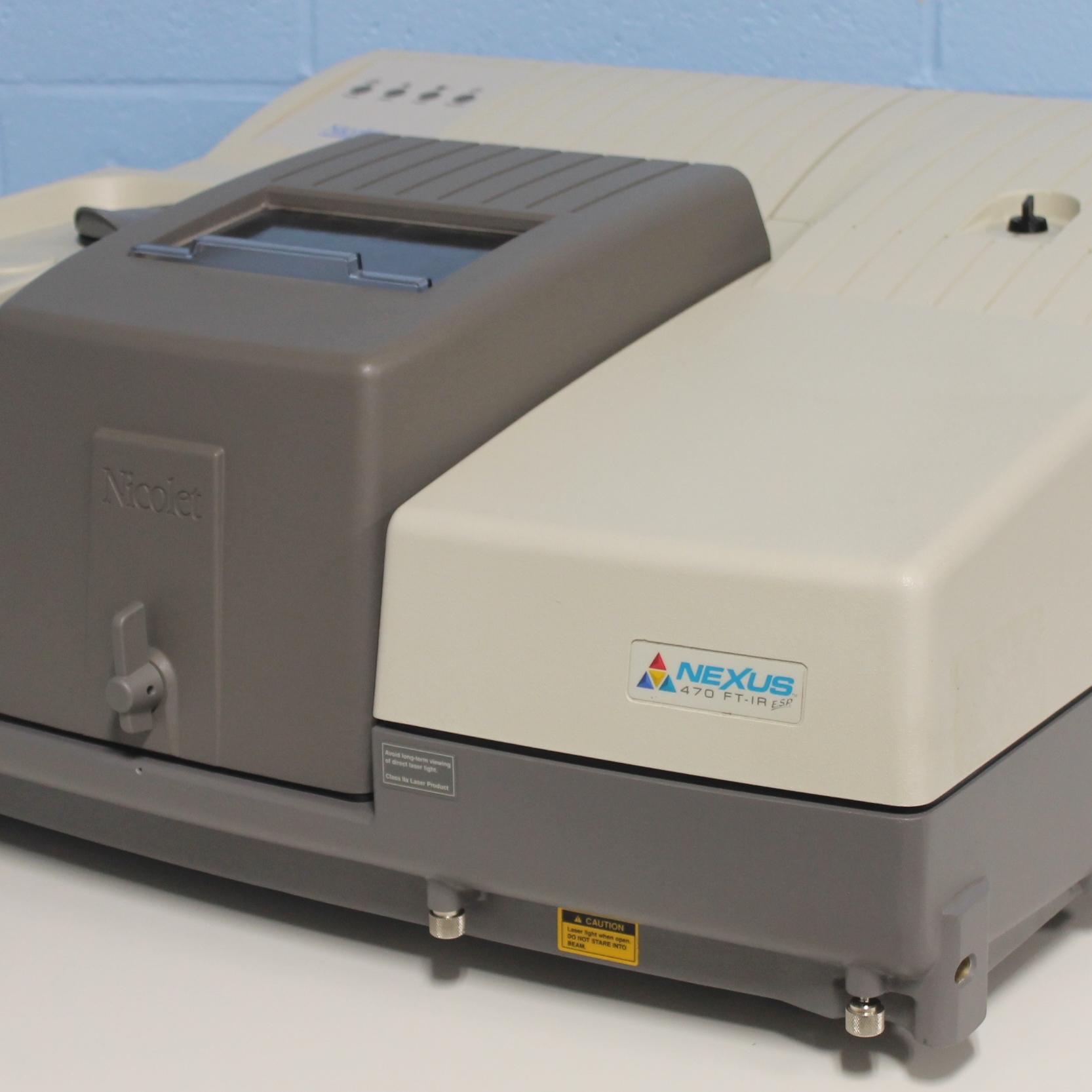 Nicolet Nexus 470 ESP FT-IR Spectrometer with Spectra-Tech Continuum FT-IR Microscope System Image