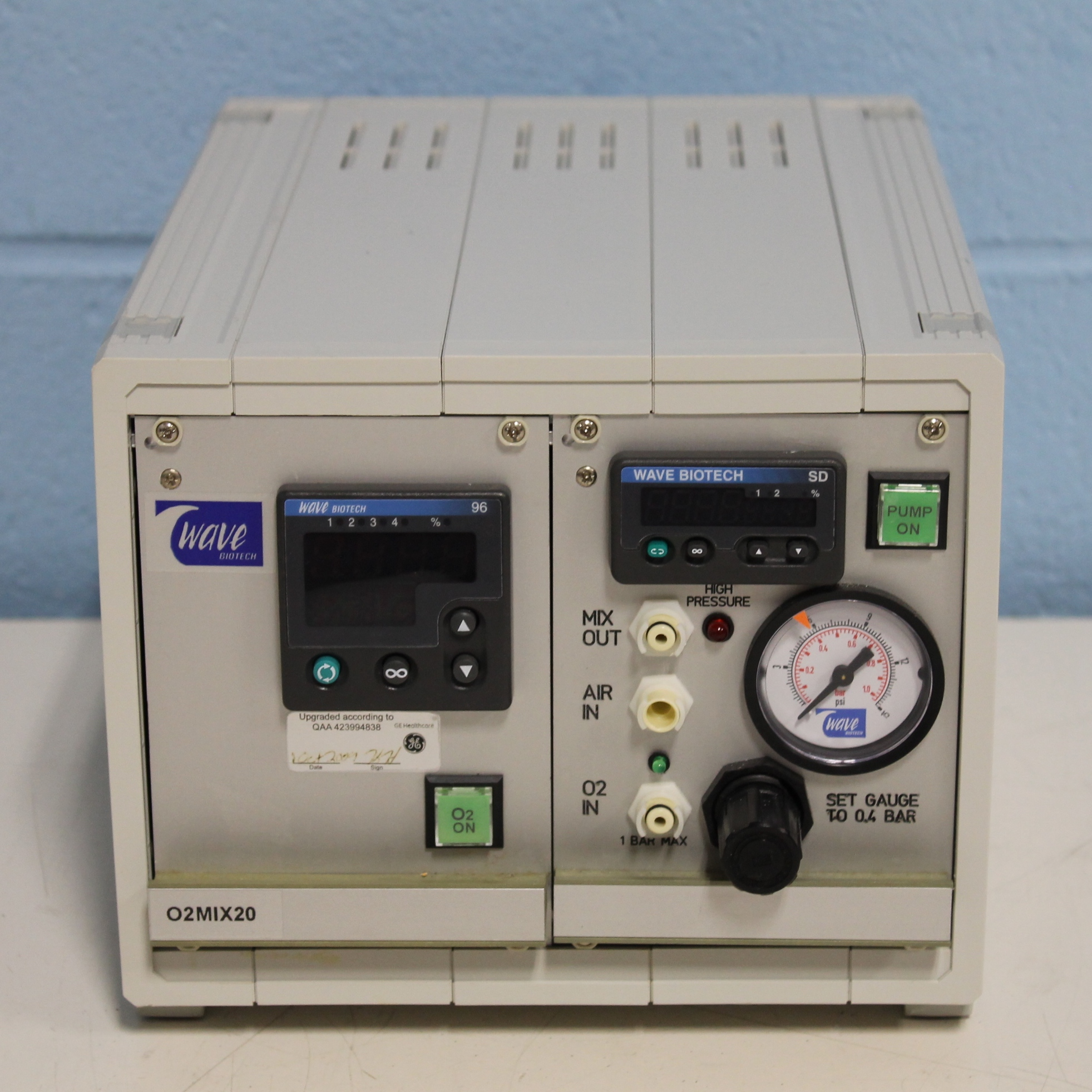Wave Biotech O2MIX20 O2/air Mixture Controller Image