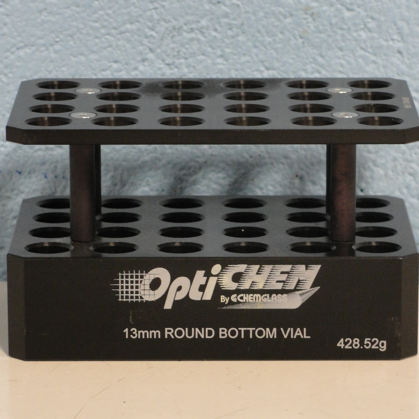 Chemglass OPTICHEM 24-Position 2-Tier Round Bottom Vial Holder Image
