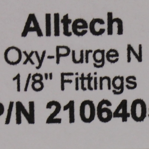 Alltech Oxy-Purge N Fitting Trap: 0.3cm Image