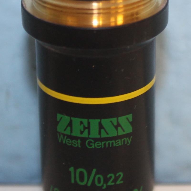 Zeiss PH1 10/0.22 160/- Microscope Objective Image