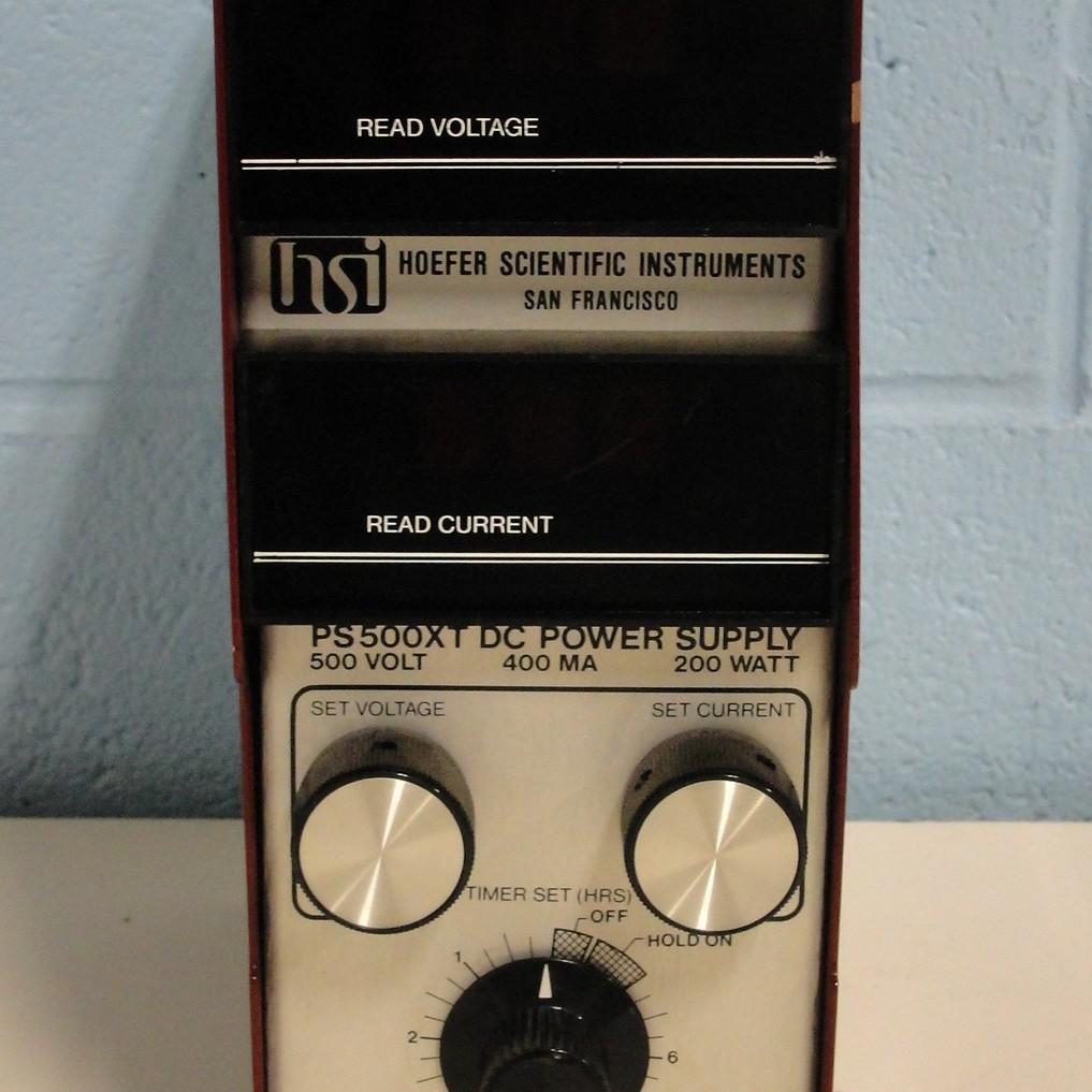 Hoefer Scientific PS500XT DC Power Supply Image