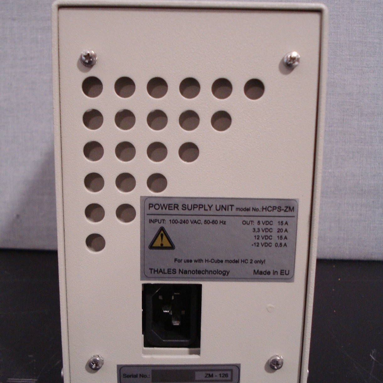 Thales Power Supply Unit Model HCPS-ZM Image