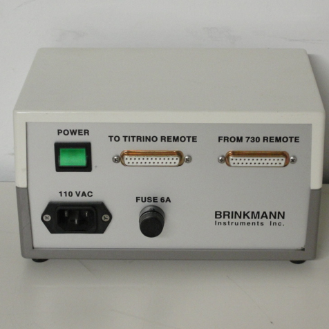 Brinkmann Power Interface Box for Metrohm Image