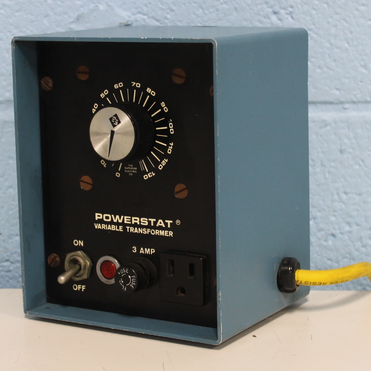Superior Powerstat L10B Variable Autotransformer Image