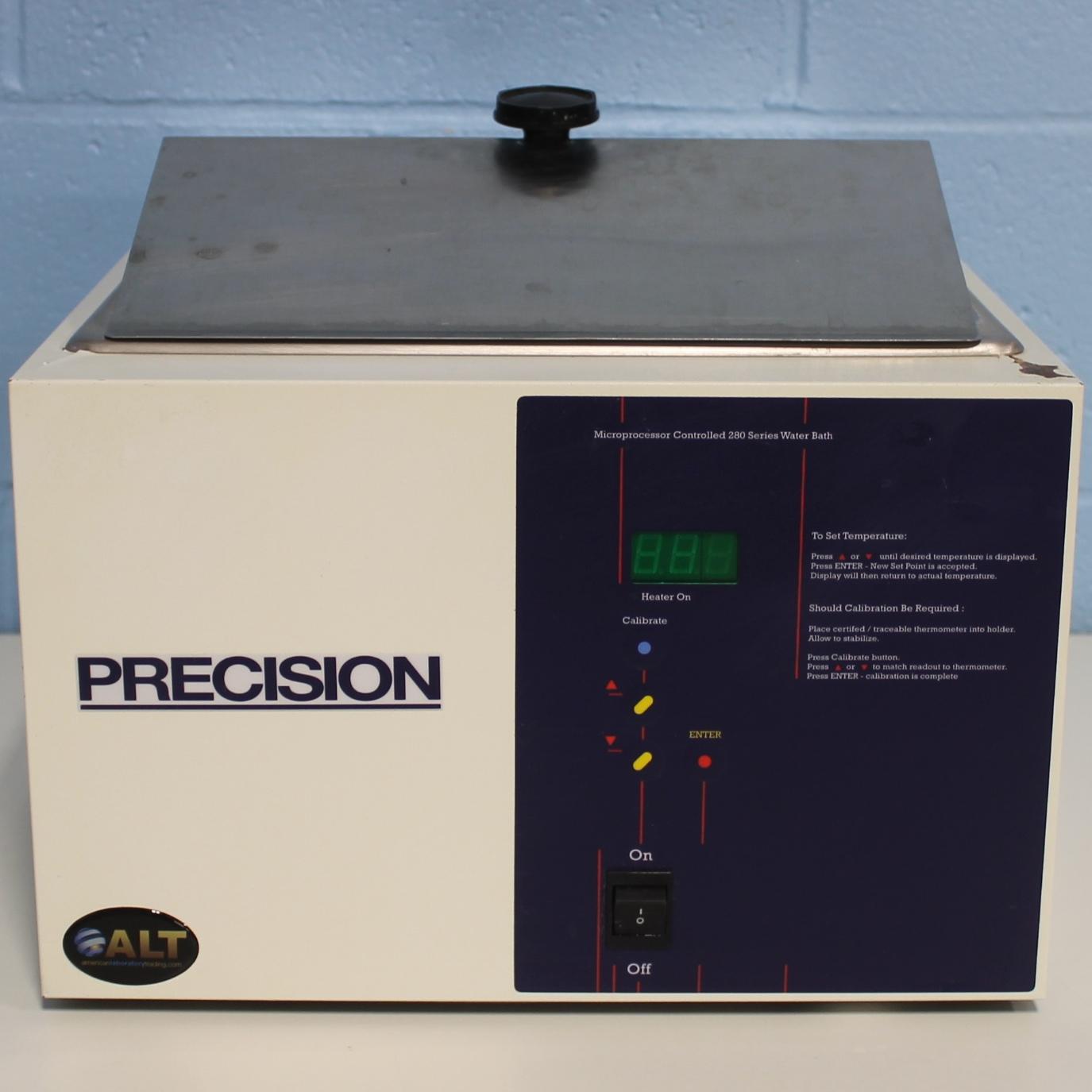 Thermo Scientific Precision Microprocessor Controlled 280 Series Water Bath Image