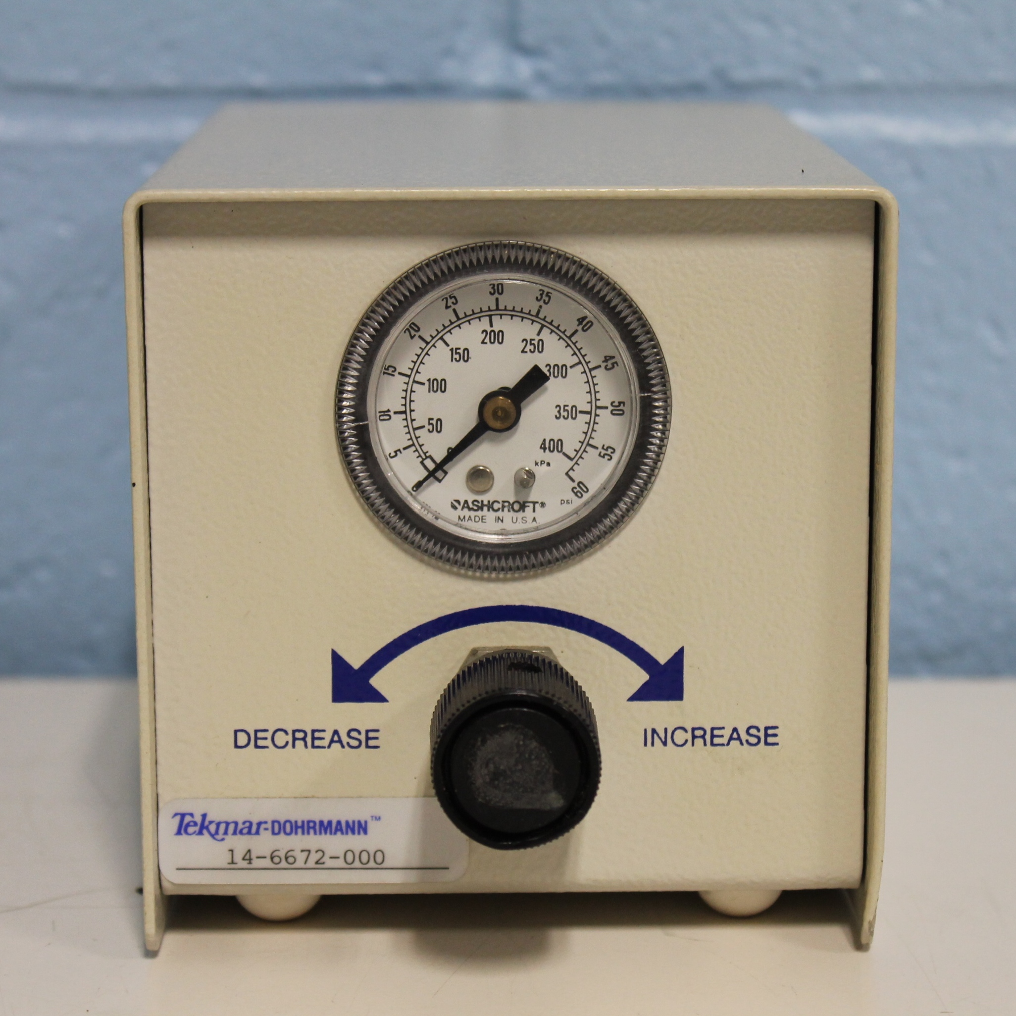 Tekmar Pressure Regulator Model 14-6672-000 Image