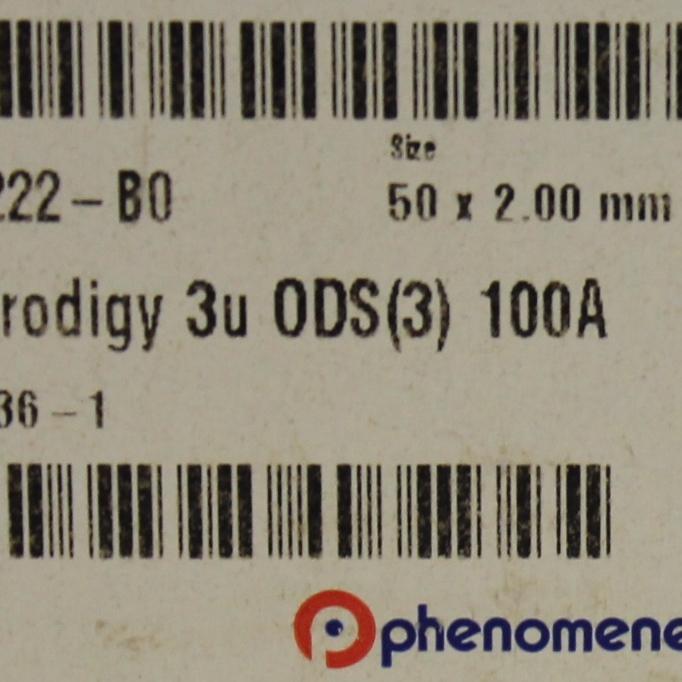 Phenomenex Prodigy 3 m ODS-3 100 , LC Column 50 x 2 mm P/N 00B-4222-B0 Image