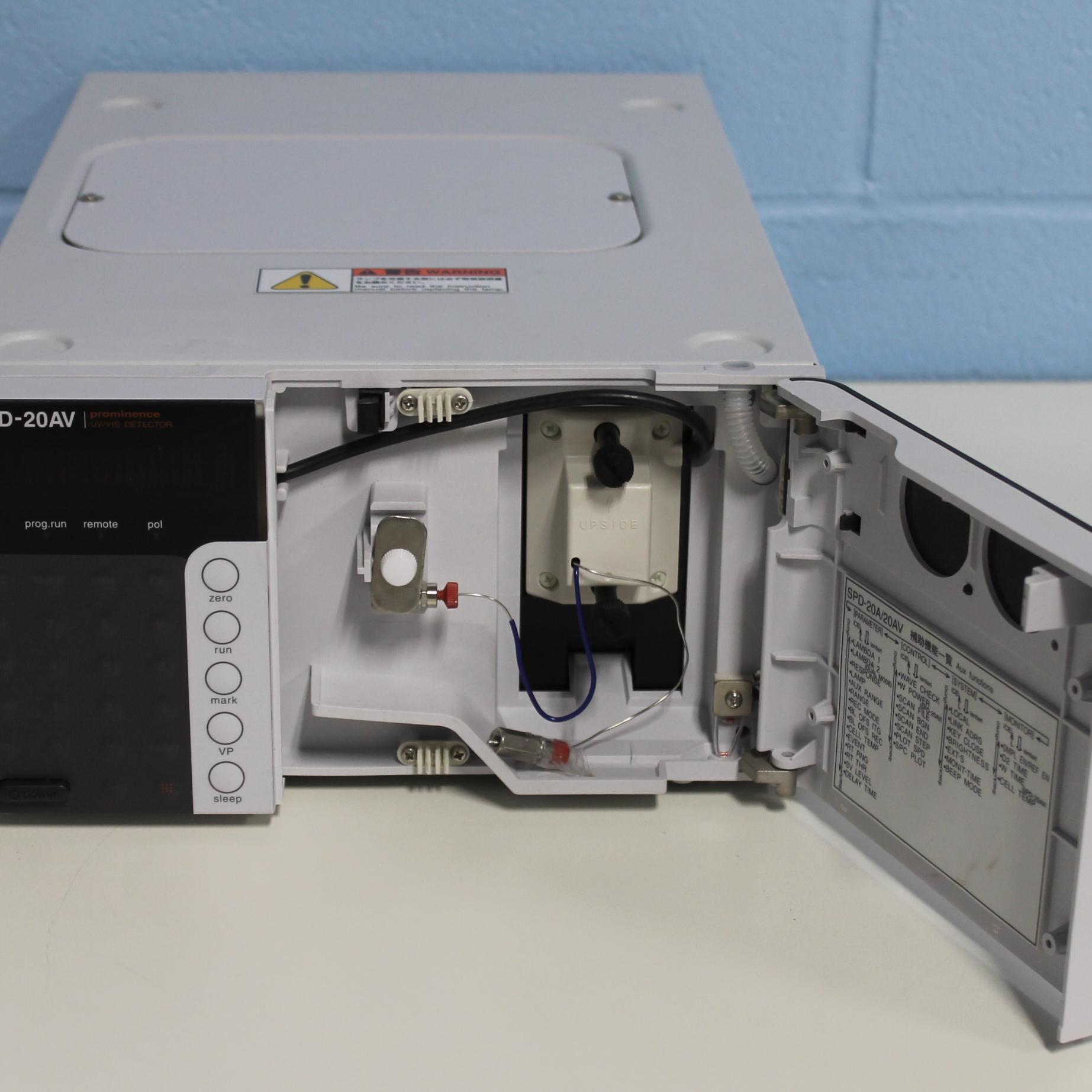 Shimadzu Prominence SPD-20AV UV/Vis Detector Image