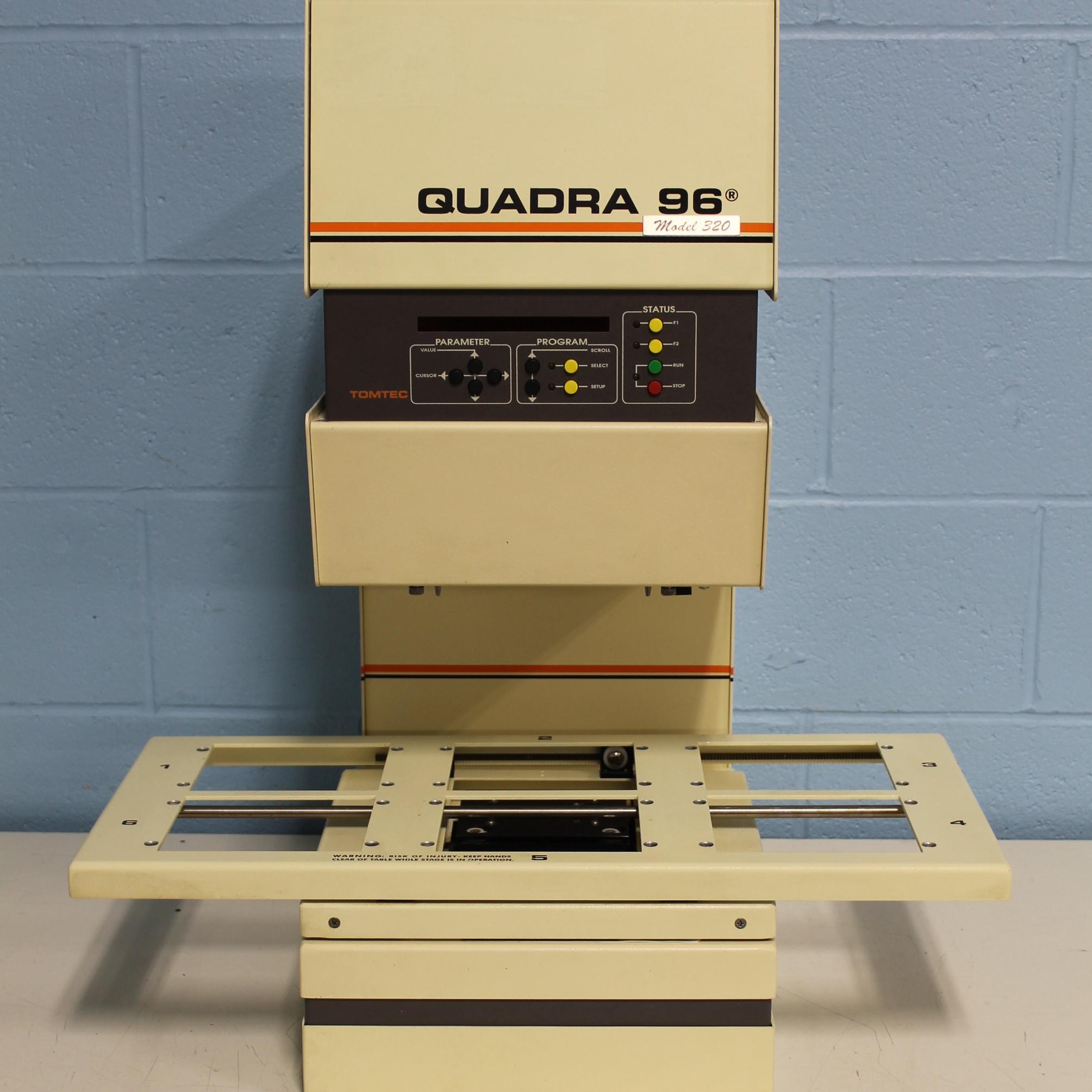 Quadra 96 Model 320 Liquid Handling System Name