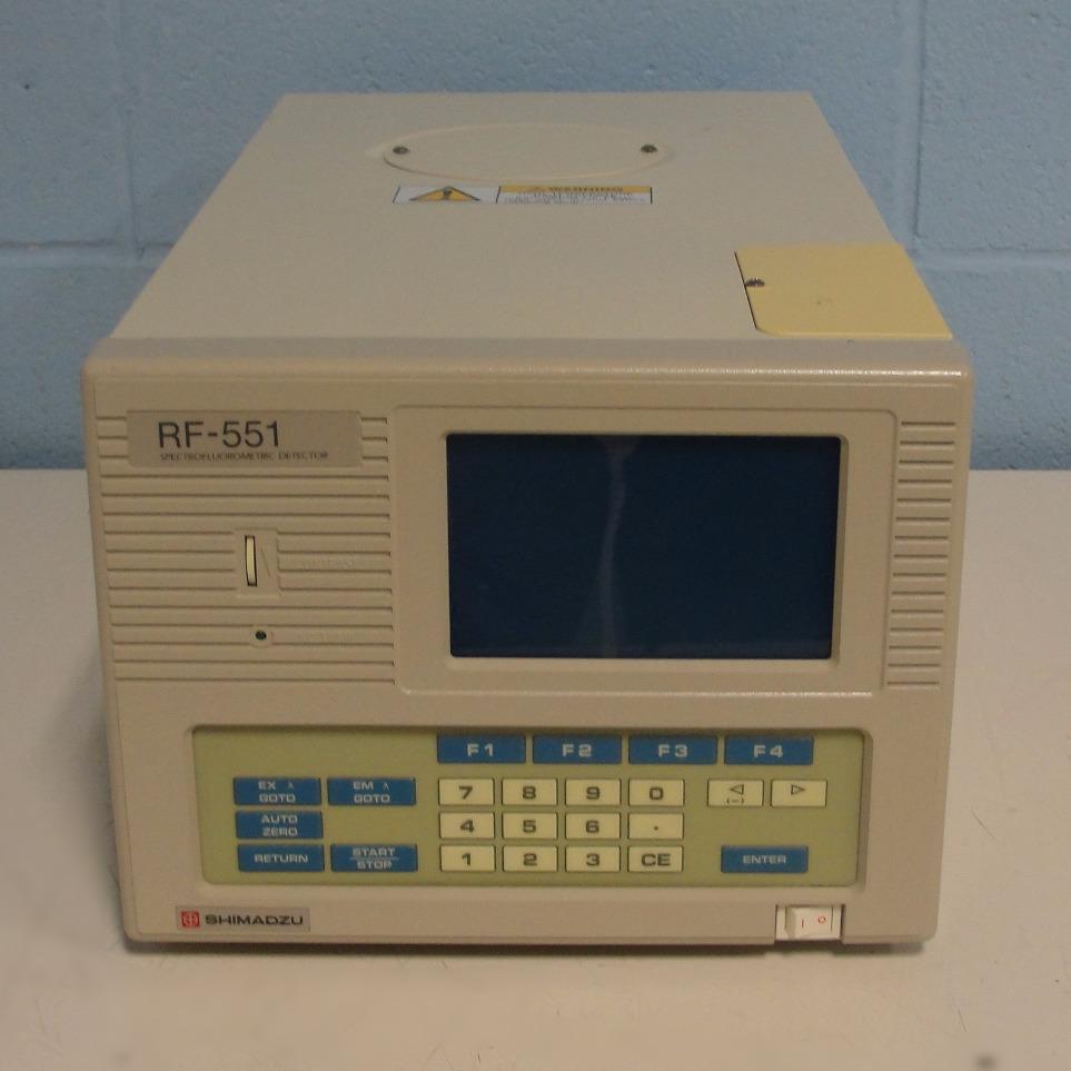 Shimadzu RF-551 Spectrofluorometric Detector Image