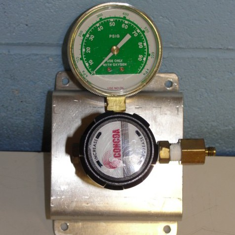 Regulator Single-Stage, Brass Barstock Body, and Four-Port Configuration Name