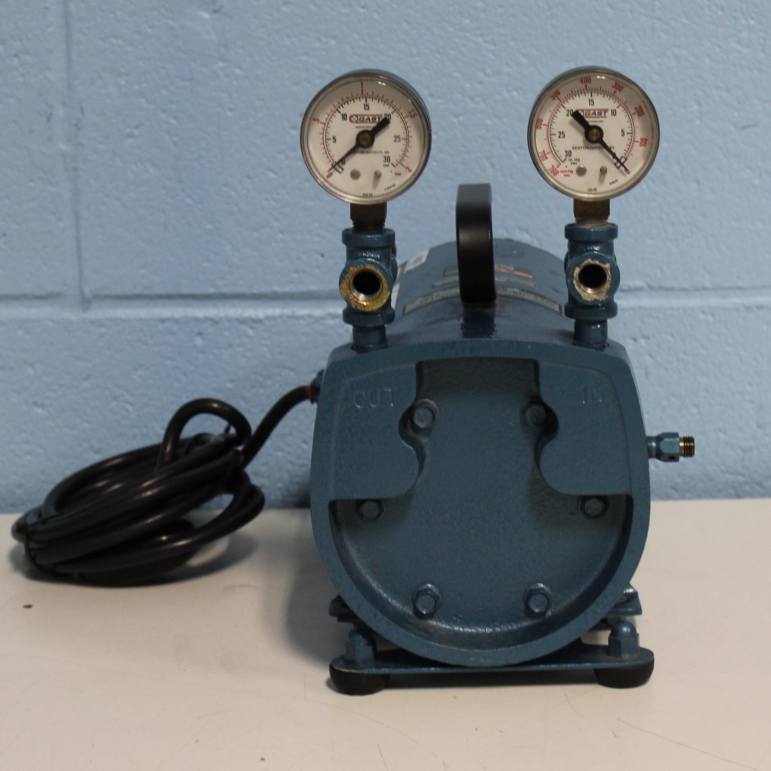 Refurbished Gast Rotary Vane Vacuum Pump