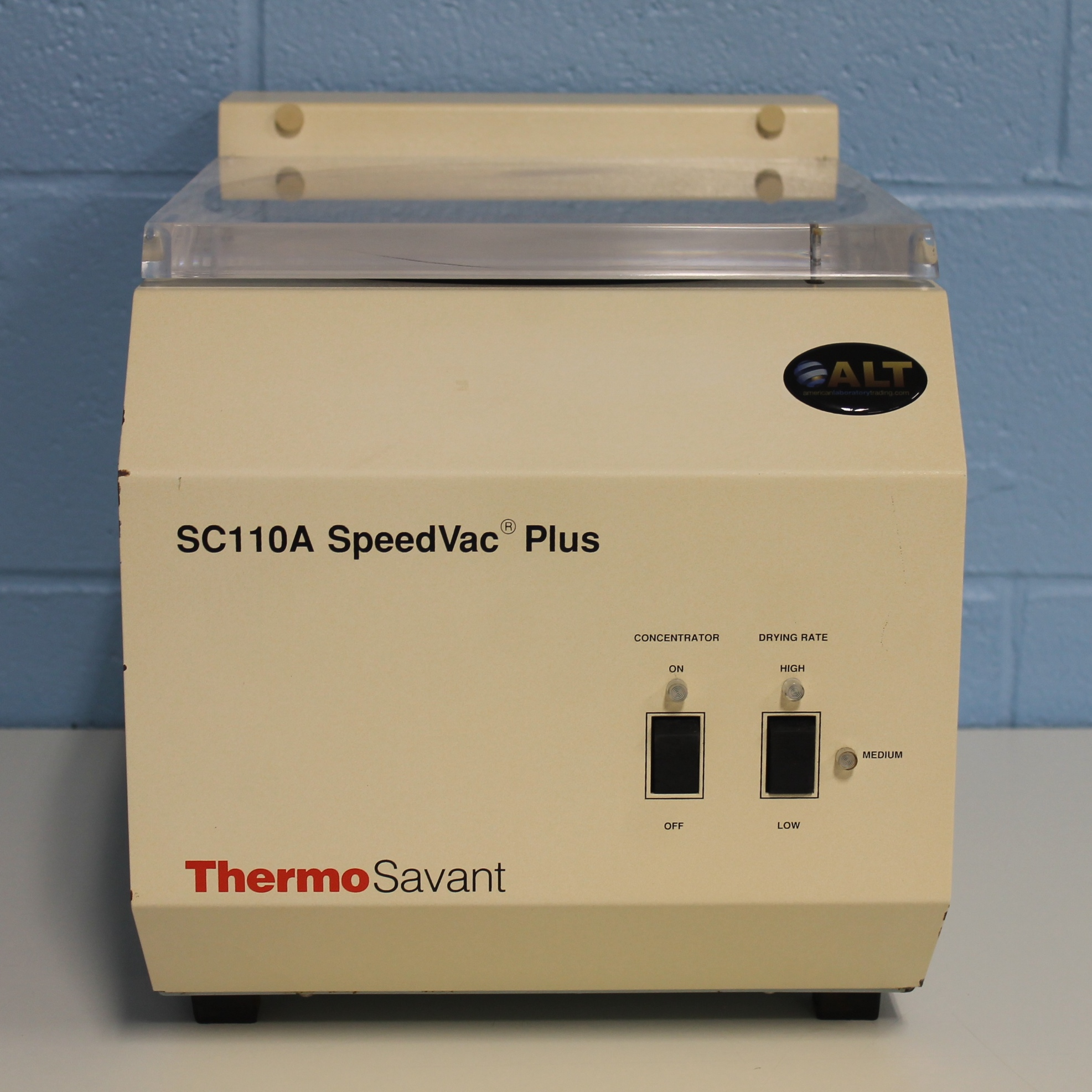 SC110A-115 SpeedVac Plus Concentrator Name
