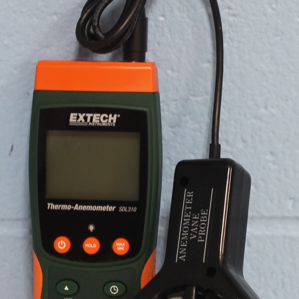 SDL310 Data Logging Vane Thermoanemometer Name