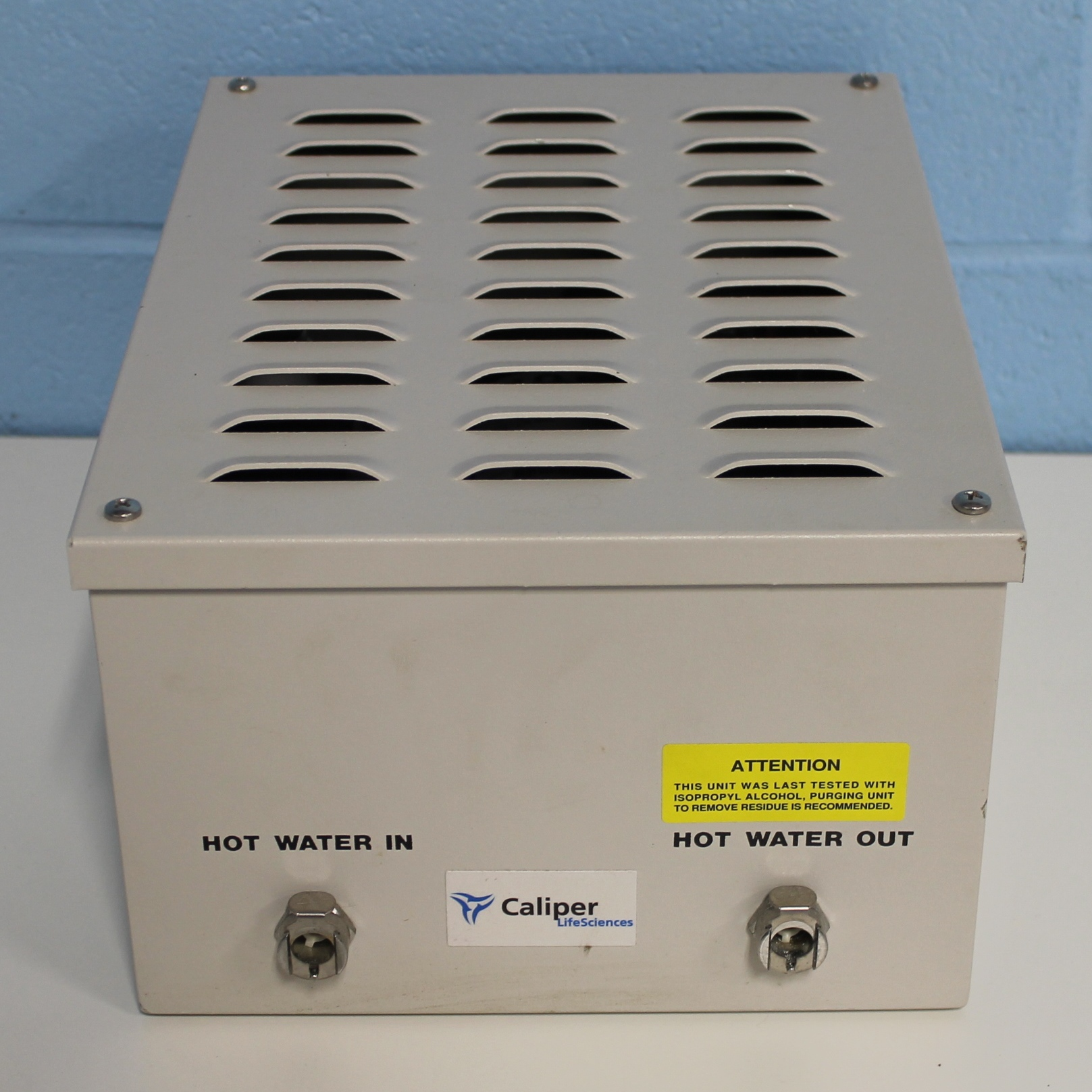 Caliper Life Sciences SE Box with hot water in/out valves P/N 74972/1 Image