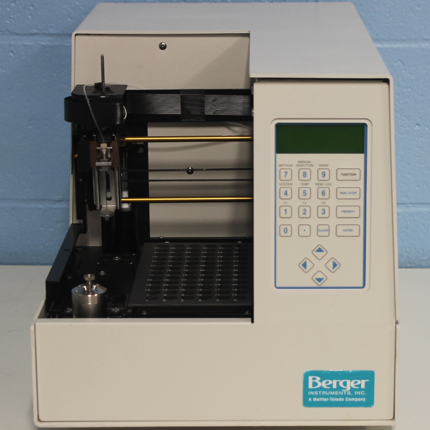 Berger SFC Analytix and MiniGram Automatic Liquid Sampler Model 719/0000032 Image