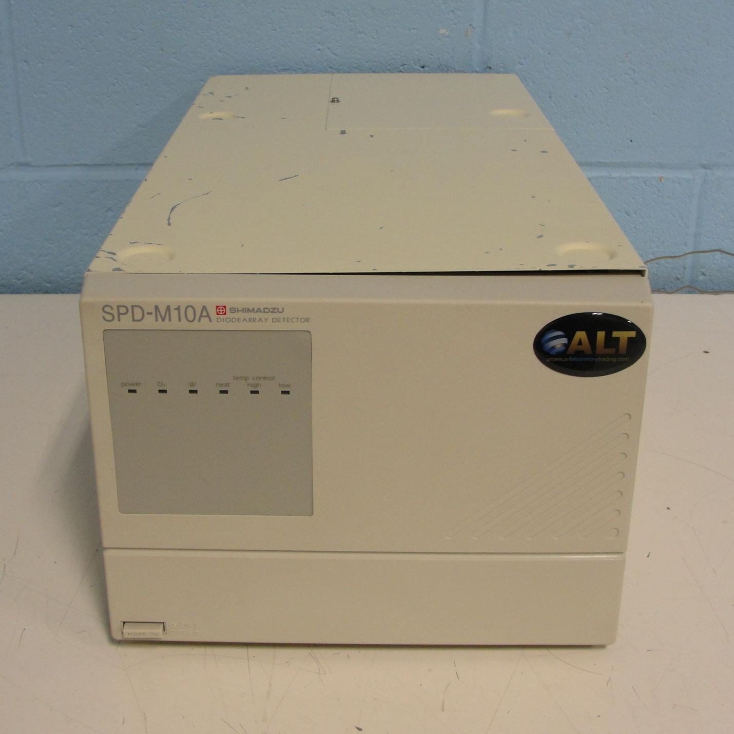 Shimadzu SPD-M10A Diode Array Detector Image