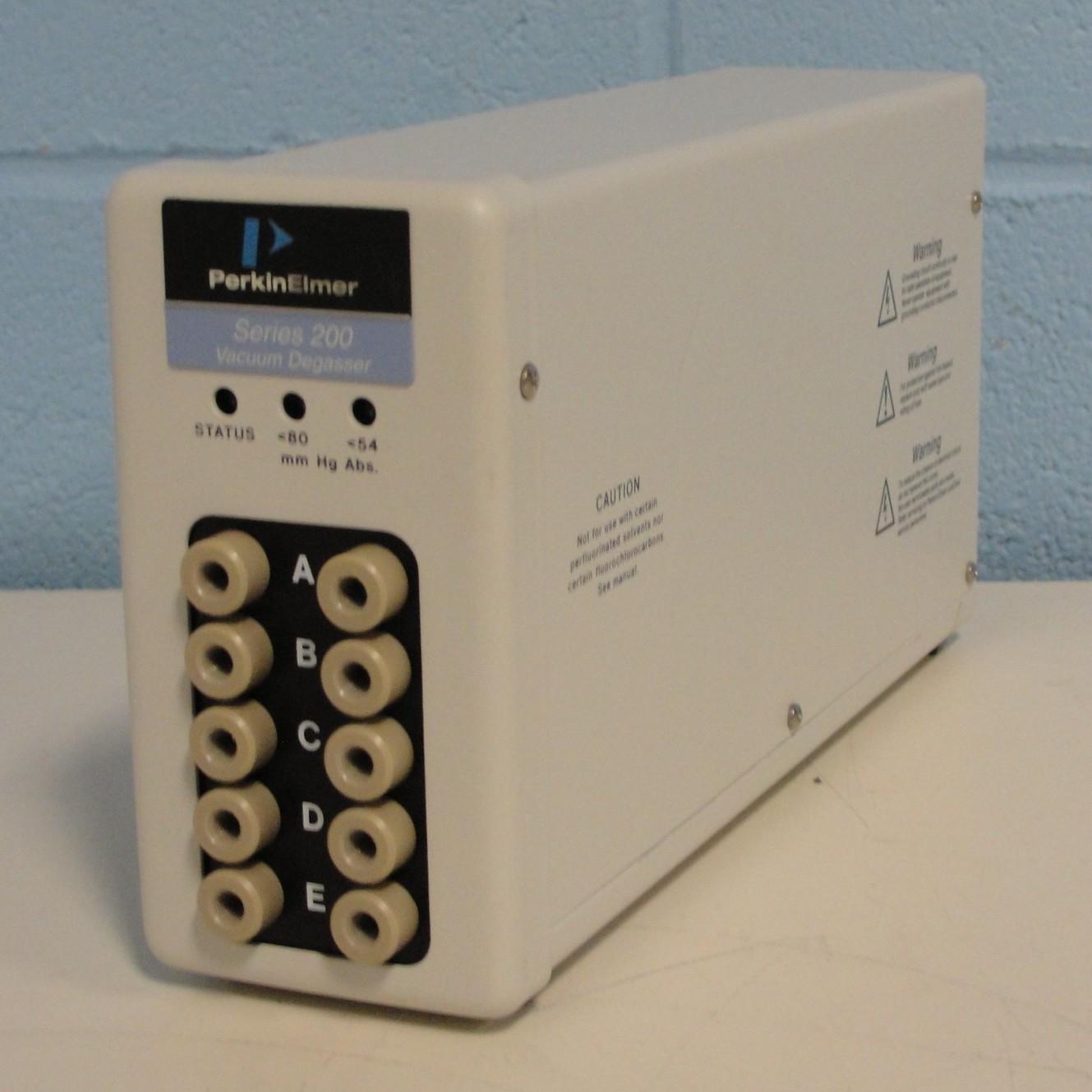 Perkin Elmer 5 Channel Series 200 Vacuum Degasser Image