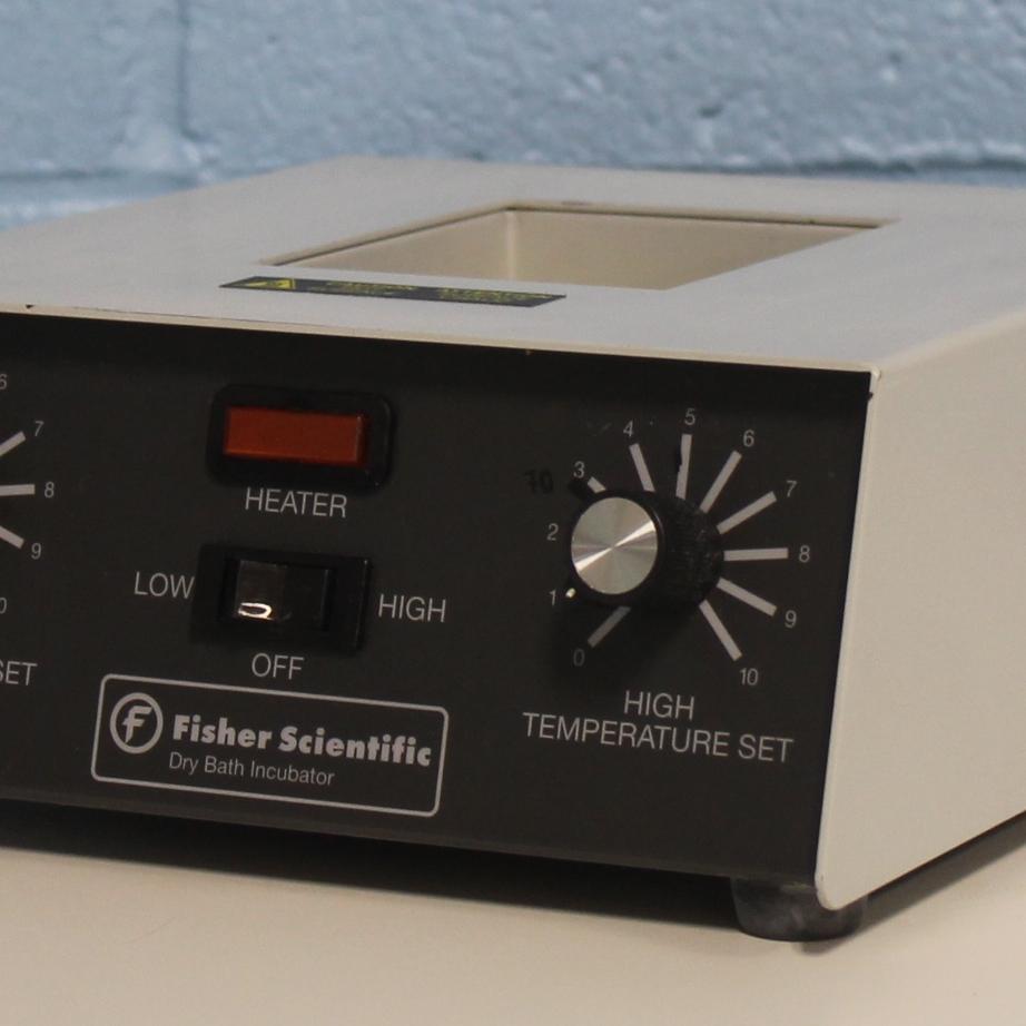 Fisher Scientific Single-Block Analog Dry Bath Incubator Image