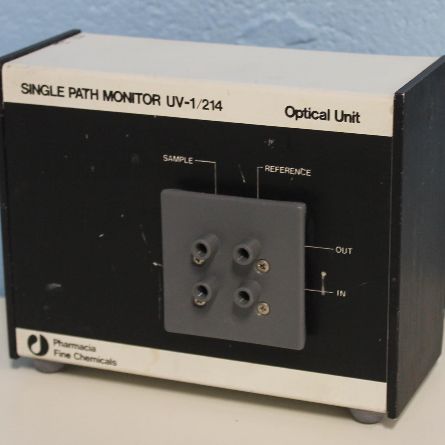 Pharmacia Single Path Monitor UV-1/214 Optical Unit Image