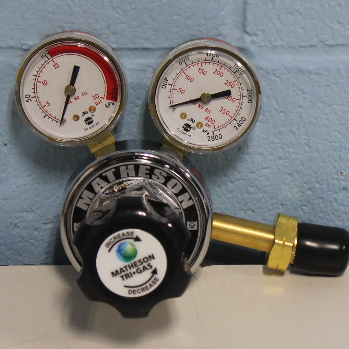 Matheson Gas Products Single-Stage General Purpose Brass Regulator Image