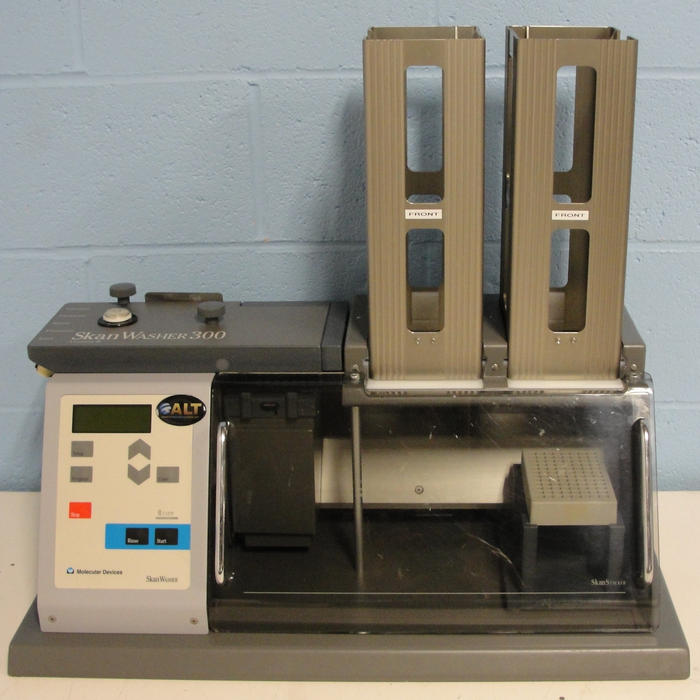 Molecular Devices SkanWasher 300 SkanStacker Microplate Washer Version B Image