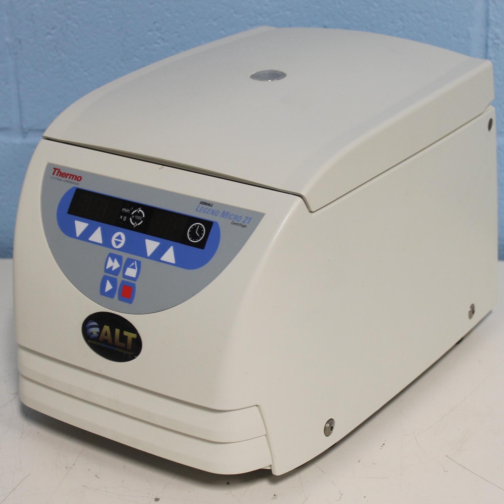 Thermo Scientific Sorvall Legend Micro 21 Ventilated Microcentrifuge Image