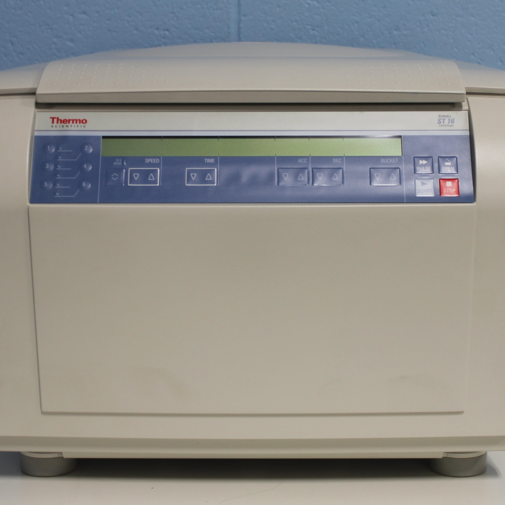 Sorvall ST16 Benchtop Centrifuge CAT #75004241 Name